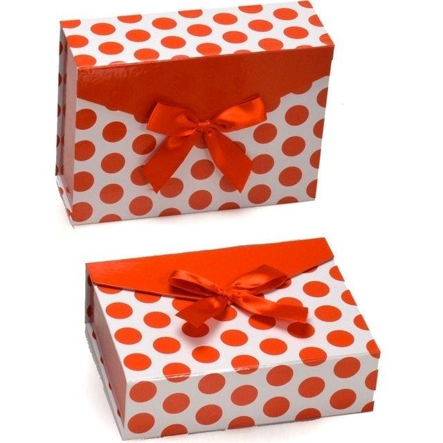 SANTINI Caixa de Presente Vermelha 2 Unidades  1