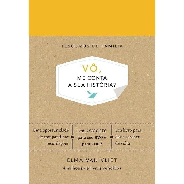 SEXTANTE Livro Vô, Me Conta a Sua História? 1