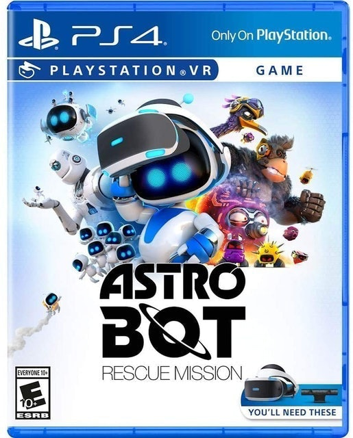 SONY INTERACTIVE ENTERTAINMENT Astro Bot Rescue Mission para PlayStation VR (PS4) 1