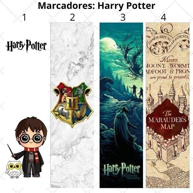 MARCADORES STORE Marcadores de Página Harry Potter 1