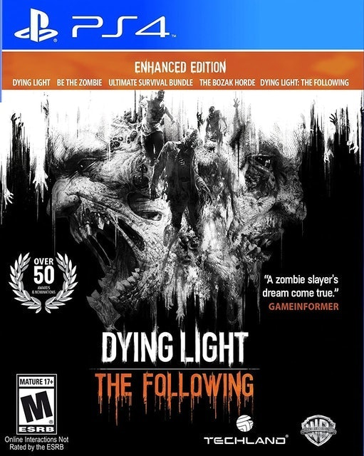 WARNER BROS. Dying Light: The Following - Enhanced Edition para PS4 1