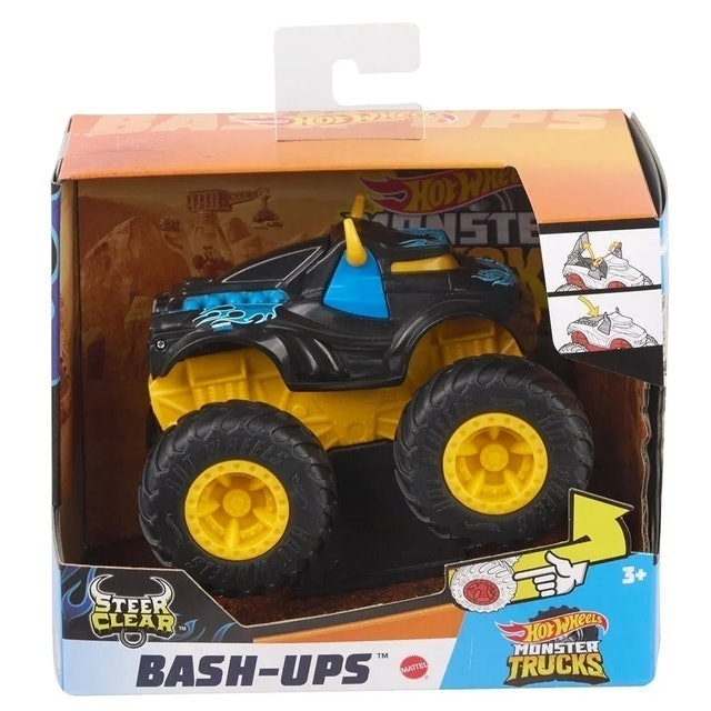 HOT WHEELS  Monster Trucks Steer Clear 1