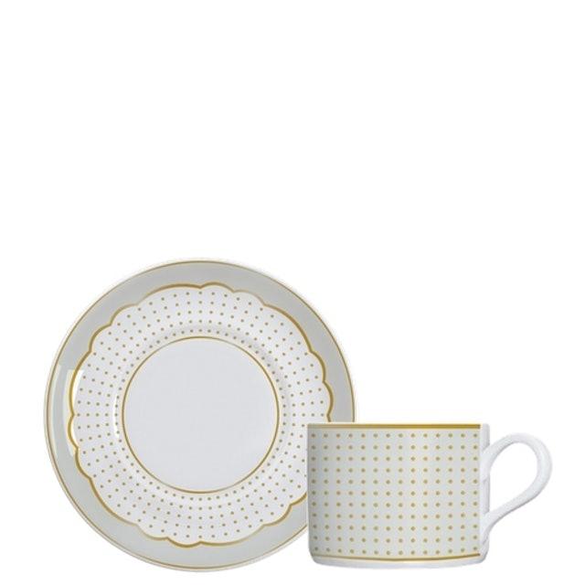 GERMER Xicara de Chá Royal Off-White 1