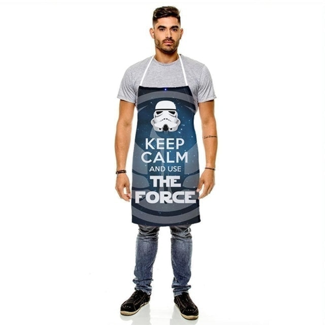 429K Avental Masculino Keep Calm and Use The Force 1