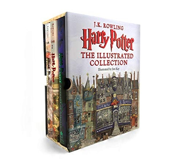 J.K. Rowling Harry Potter - The Illustrated Collection Books 1-3 1