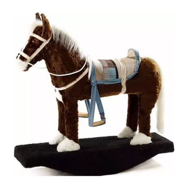 KVALINHO E CIA Brinquedo Cavalo Cavalinho de Balanço Infantil 1