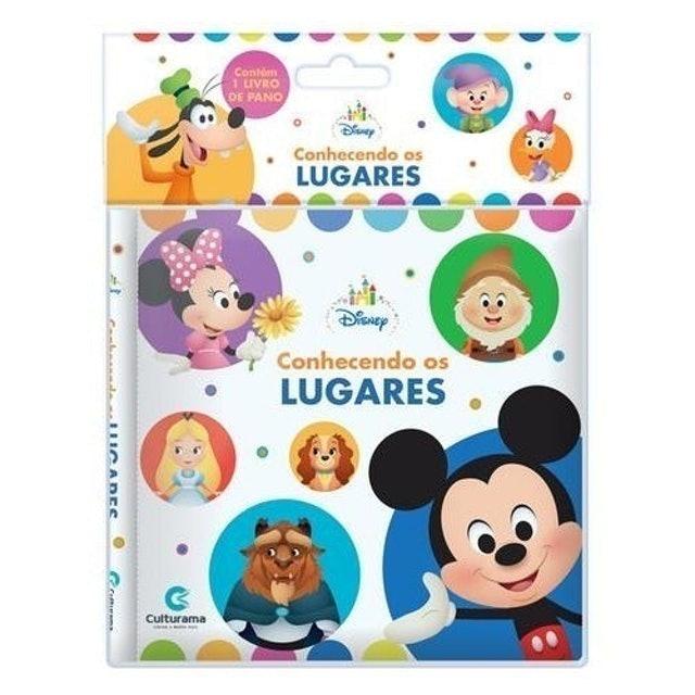 CULTURAMA Livro de Pano Disney Baby Conhecendo os Lugares 1