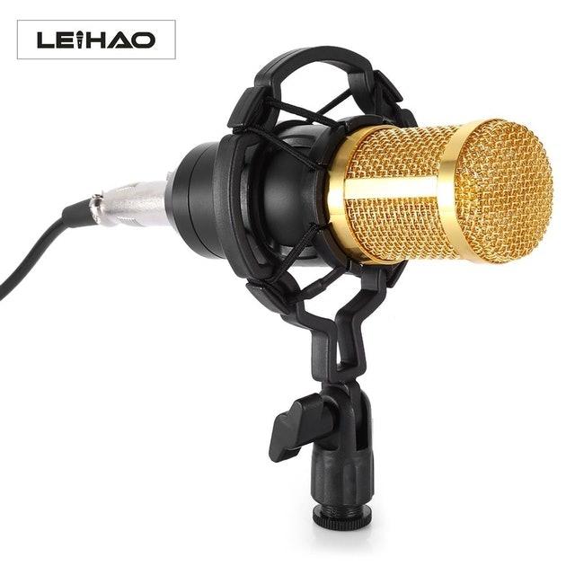 LEIHAO Microfone Condensador BM-800 1