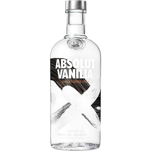 ABSOLUT  Vodka Absolut Vanilla 1