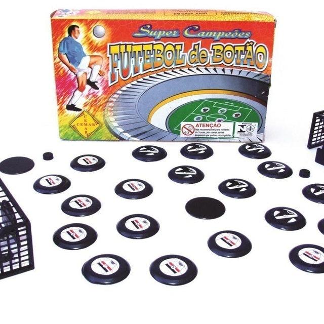 PENTAGOL Futebol de Botão com 2 Jogos 1