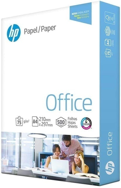 HP Papel Sulfite A4 75 g, International Paper 1