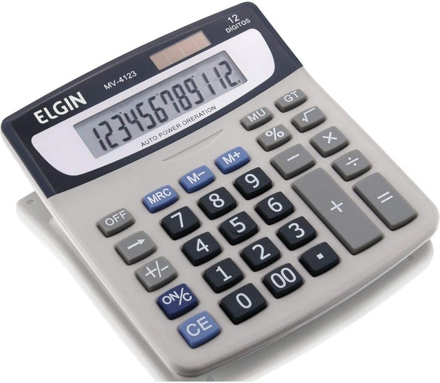 ELGIN  Calculadora de Mesa 1