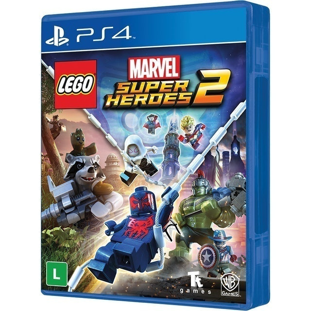 WB GAMES Lego Marvel Super Heroes 2  para PS4 1