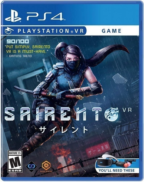 MIXED REALMS Sairento VR para PlayStation VR (PS4) 1