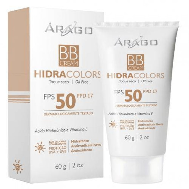 ARAGO DERMOCOSMÉTICOS  BB Cream Hidracolors 1
