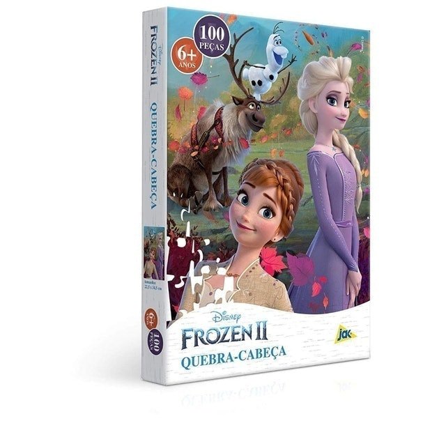 TOYSTER Frozen II – Quebra-Cabeça 100 Peças 1