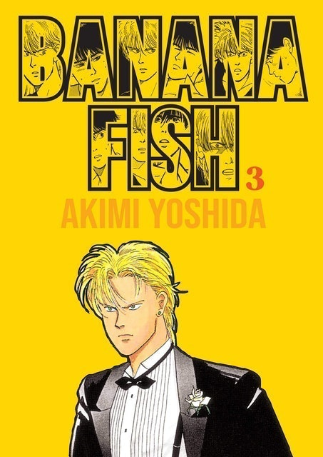 AKIMI YOSHIDA Banana Fish Volume 3 1