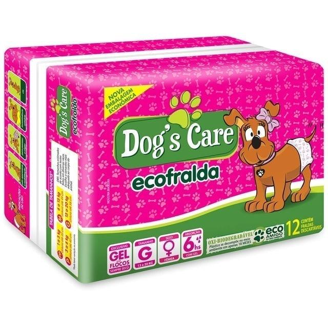 DOG'S CARE Eco Fralda Absorvente para Fêmeas 1