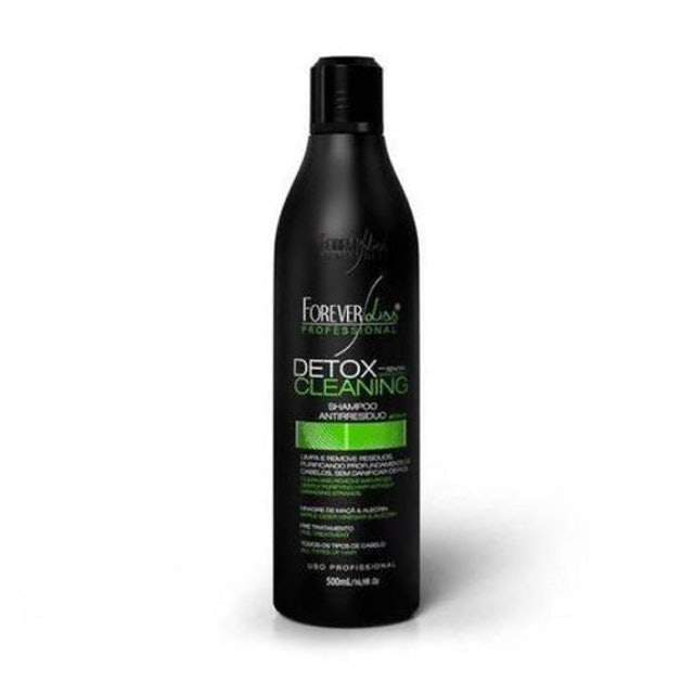 FOREVER LISS Shampoo Detox Cleaning Antirresíduo 1