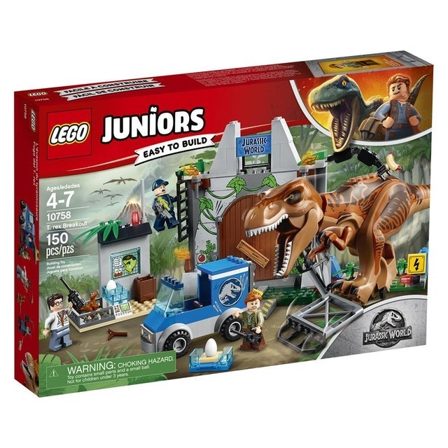 LEGO  Juniors Jurassic World Fuga do T-Rex 1