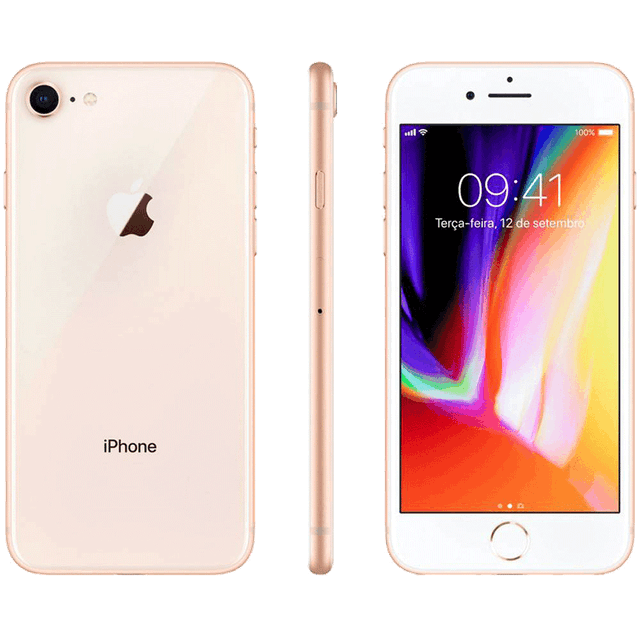 APPLE  iPhone 8 Dourado 64 GB 1